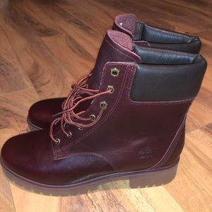 Brand new limited edition Timberland leather boots